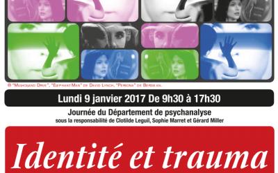 Identité et trauma – Paris 8