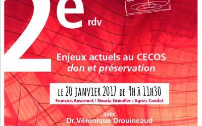 Enjeux actuels au CECOS : don et préservation