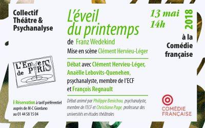 «L'Éveilduprintemps»,à la Comédie Française