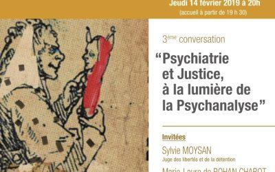 3ème conversation : La psychiatrie, aujourd'hui et demain…