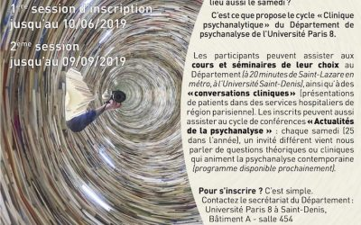 cycle clinique psychanalytique 2019-2020