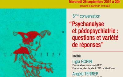 5ÈME CONVERSATION : LA PSYCHIATRIE, AUJOURD'HUI ET DEMAIN…